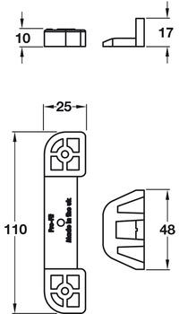 Plinth Lock Dimensions